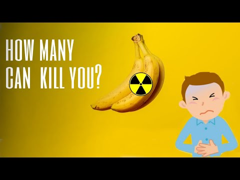 You've been eating Antimatter | Why bananas are radioactive