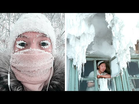 Welcome to Oymyakon, the COLDEST City in the WORLD!