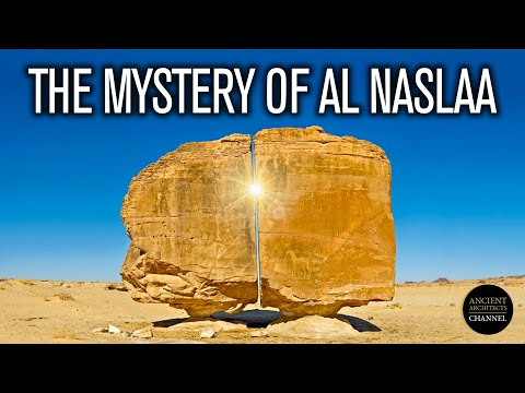 Is this Evidence of Ancient High Technology at Al-Naslaa?   Ancient Architects