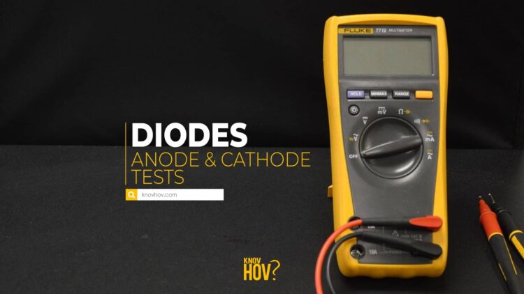 How to Find Anode Cathode of Diode: 3 Testing Methods in Step-by-step