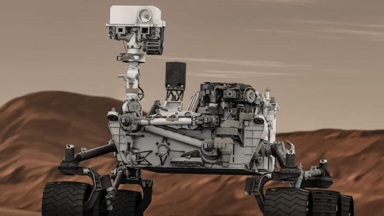 Curiosity Rover's road trip to find life on Mars (2020)