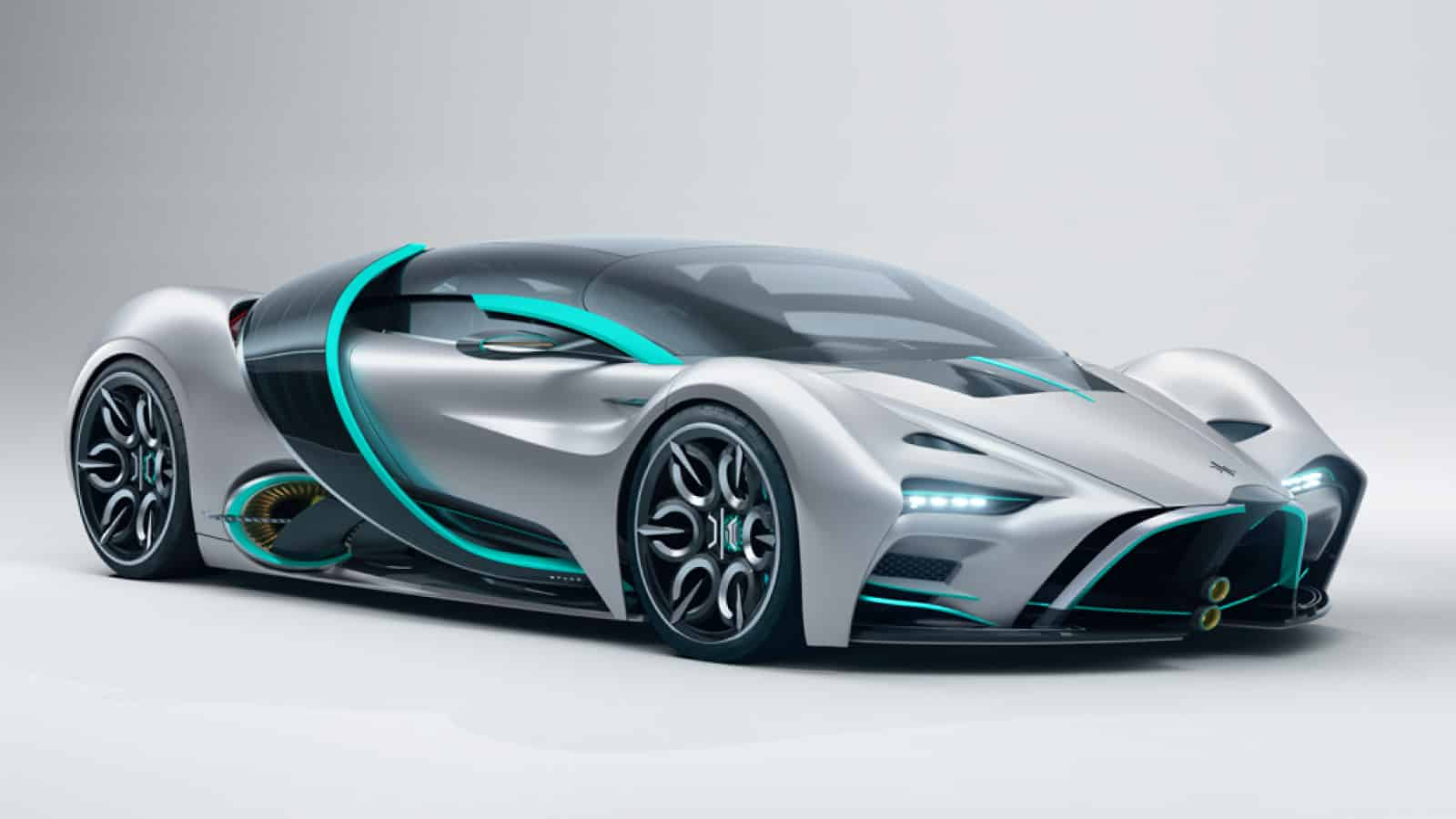 Hyperion XP-1 : A Hydrogen-powered Hypercar