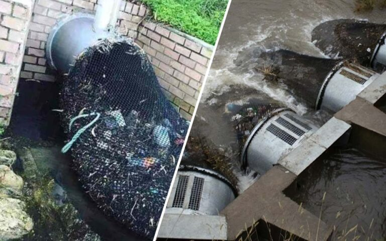 Drainage Nets in Australia to Prevent Waste from Polluting Waterways