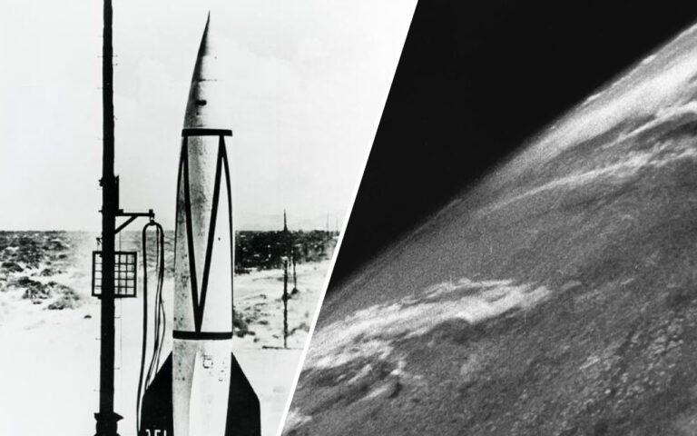 The First Photograph of Earth Taken from Space