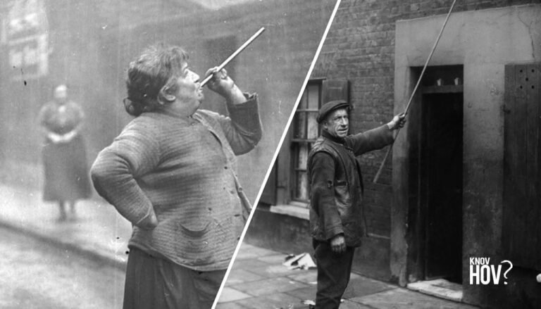 """Before Alarm Clocks, There Were """"Knocker Uppers"""" to Wake up the People of Industrial Britain"""