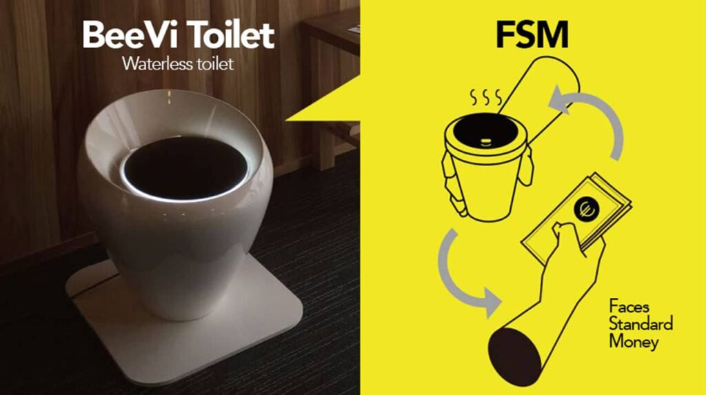 South Korean Eco-friendly Toilet turns poop into Power and Digital Currency