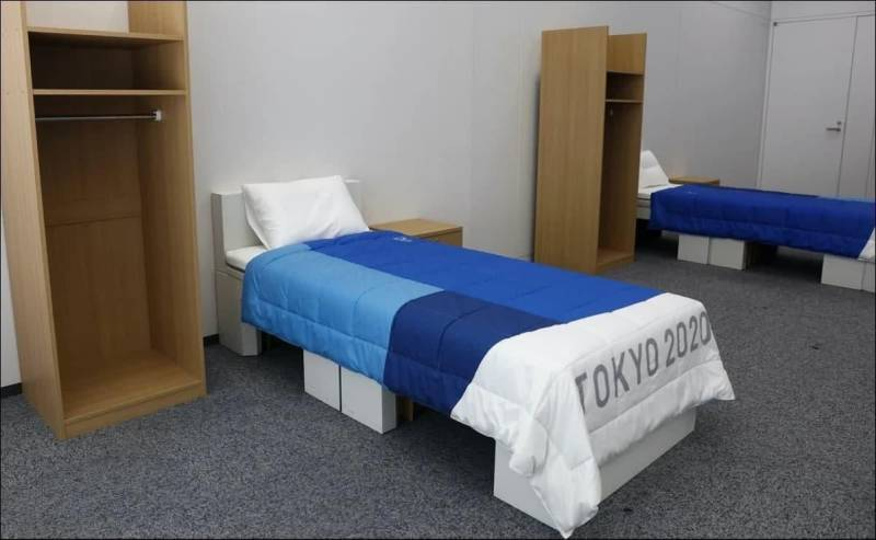 Beds at the Olympics 2020